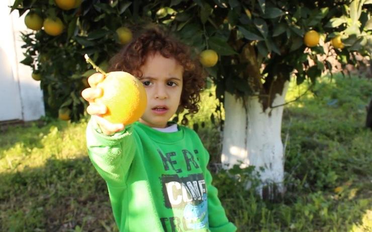 2015_12_23_Shm. handing me orange